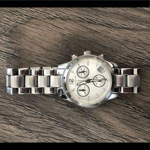 Michael Kors Silver Small Runway Watch